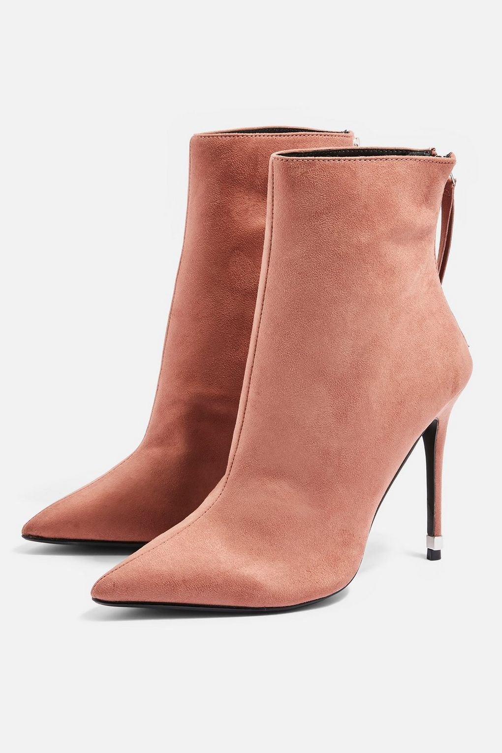 ELLA Pointed Ankle Boots - Shoes- Topshop
