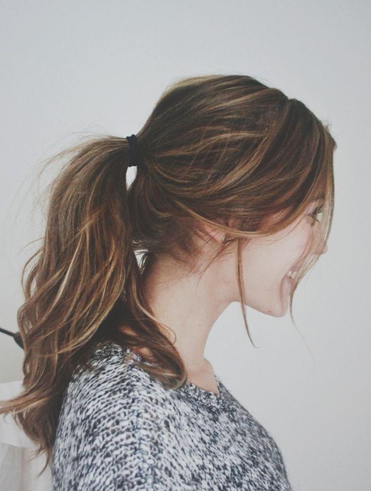 ponytail messy