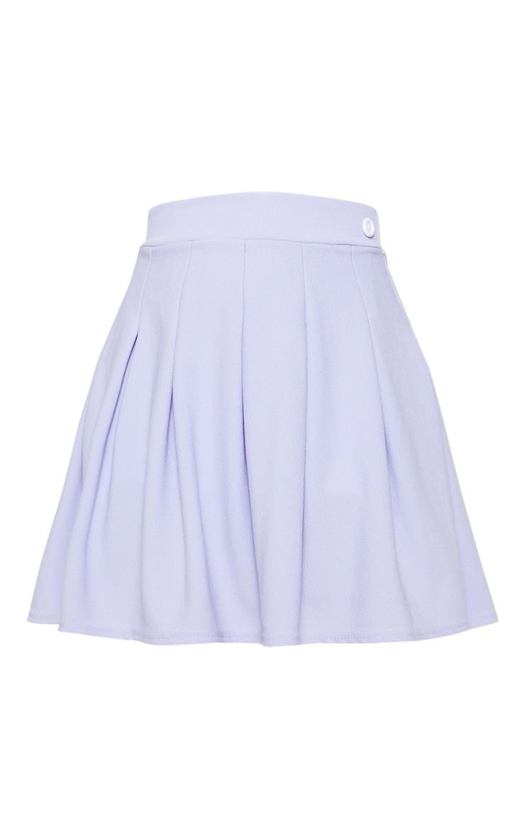 Lilac Pleated Tennis Skirt | PrettyLittleThing
