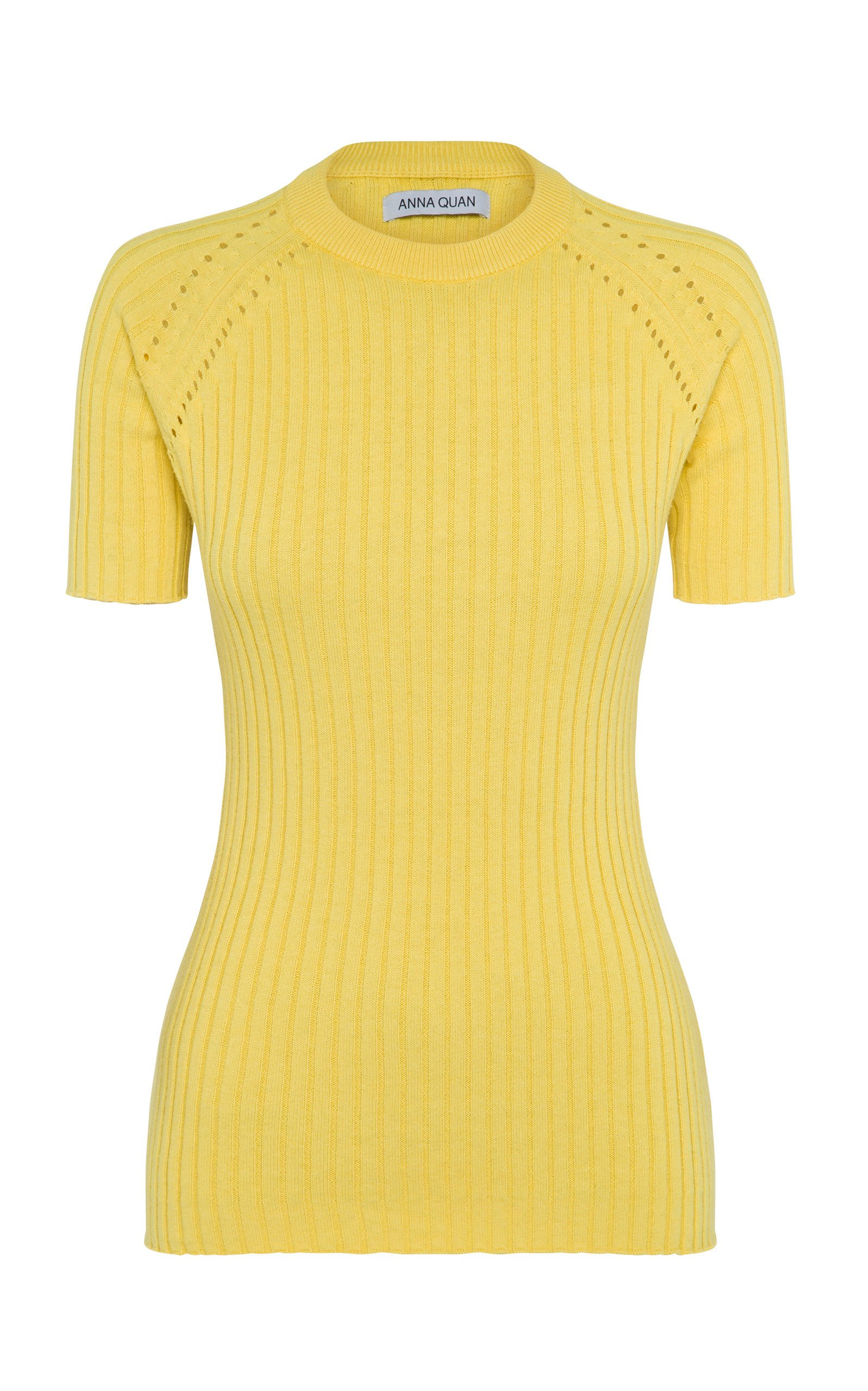 Anna Quan Billie Short Sleeve Knit Top