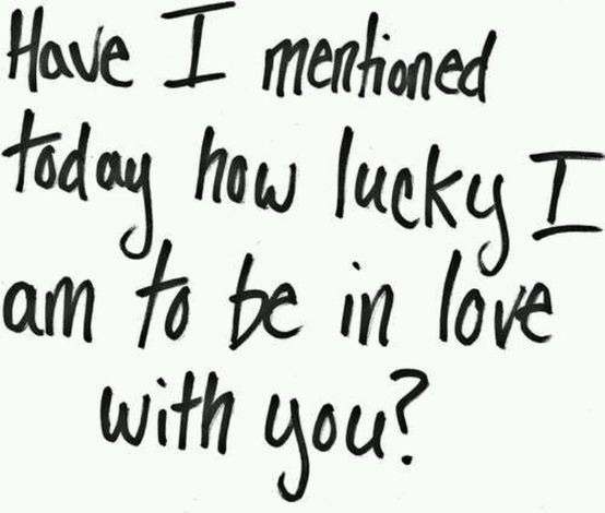 Lucky To Love