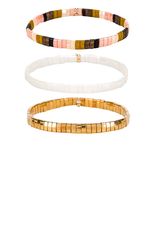 Tilu Set of 3 Bracelets