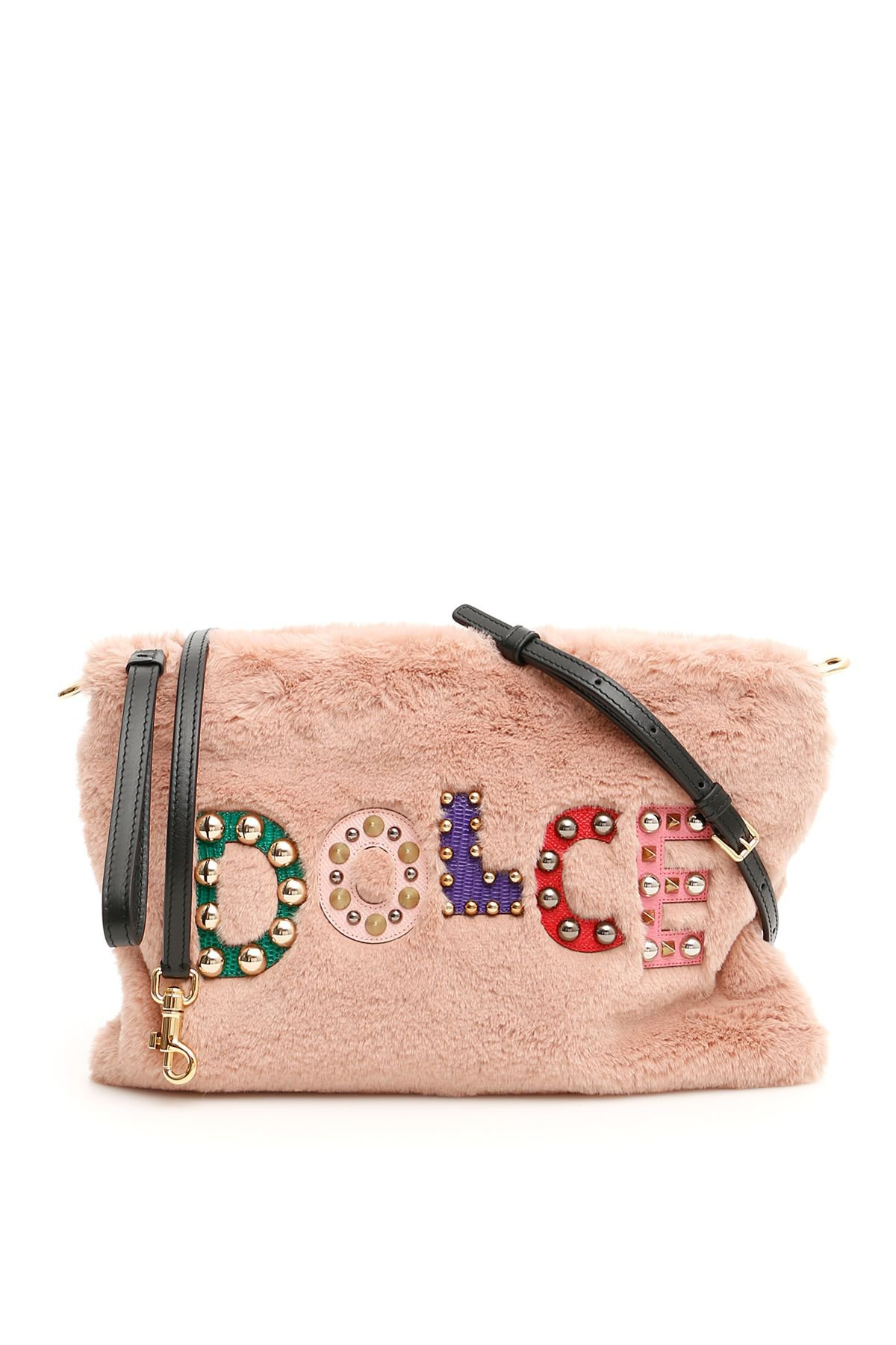 Dolce & Gabbana Cleo Clutch With Logo