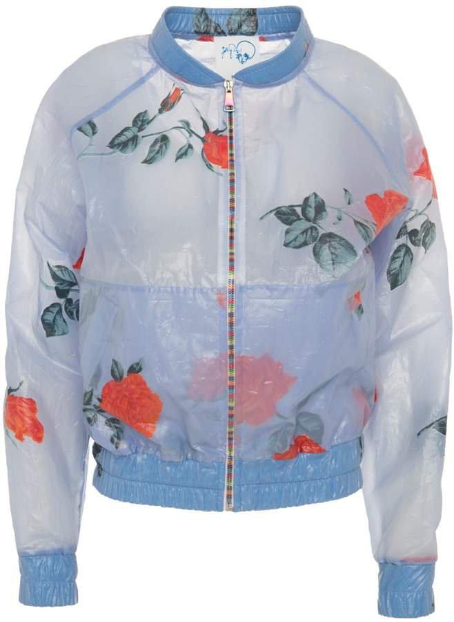 Boo Pala - Rose Raincoat Bomber Jacket