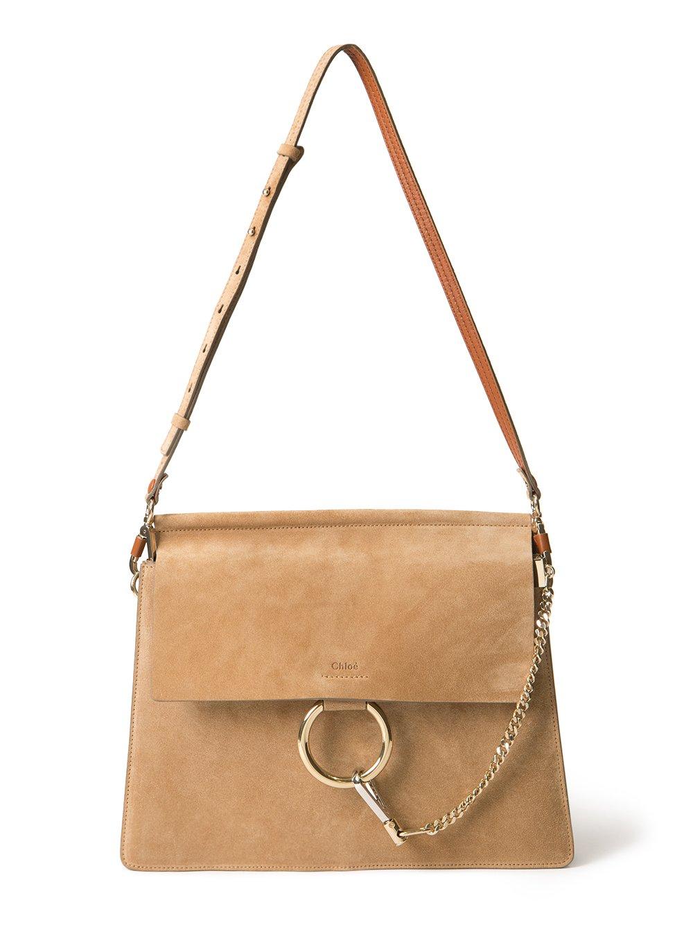 Chloe | Faye suede shoulder bag