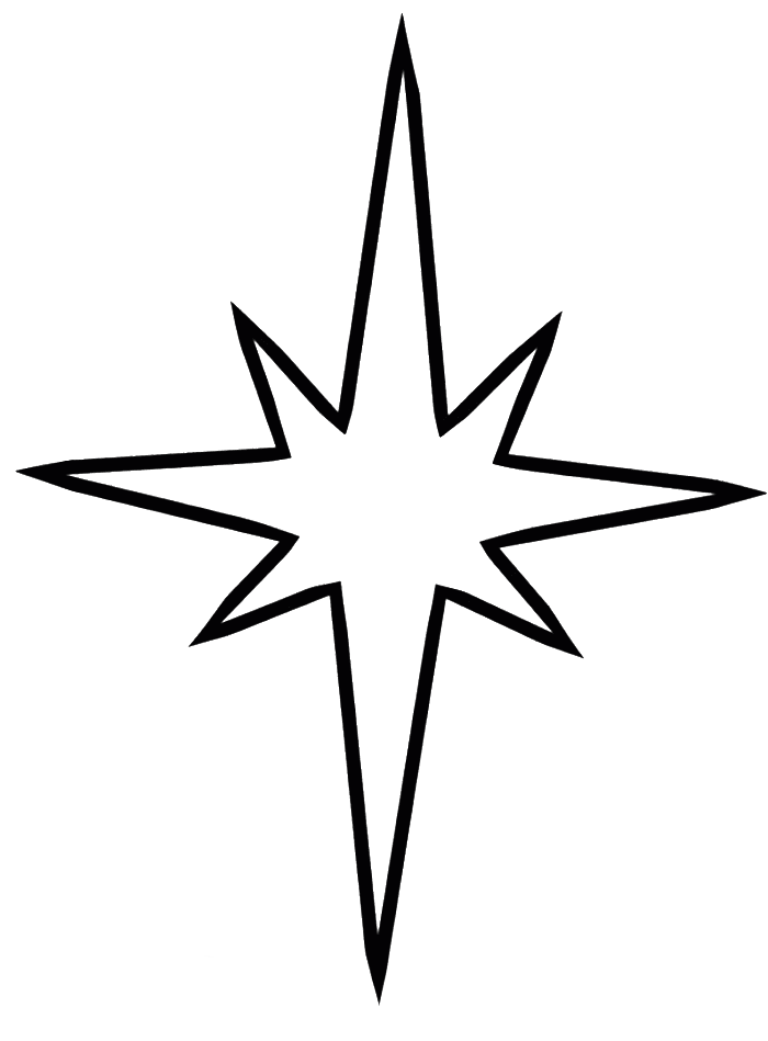 Star Art Drawing