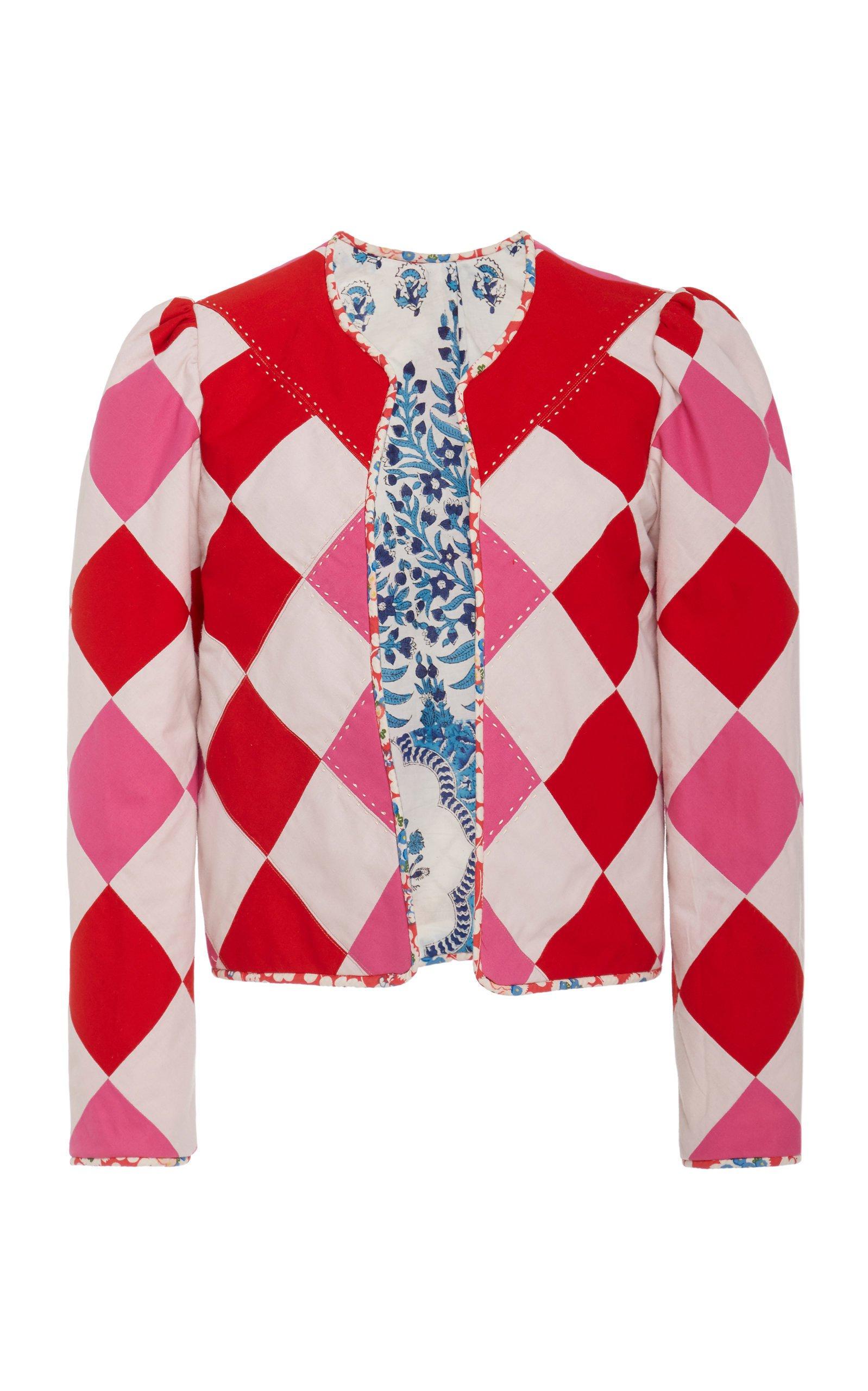 Alix of Bohemia Muse Argyle Cotton Jacket