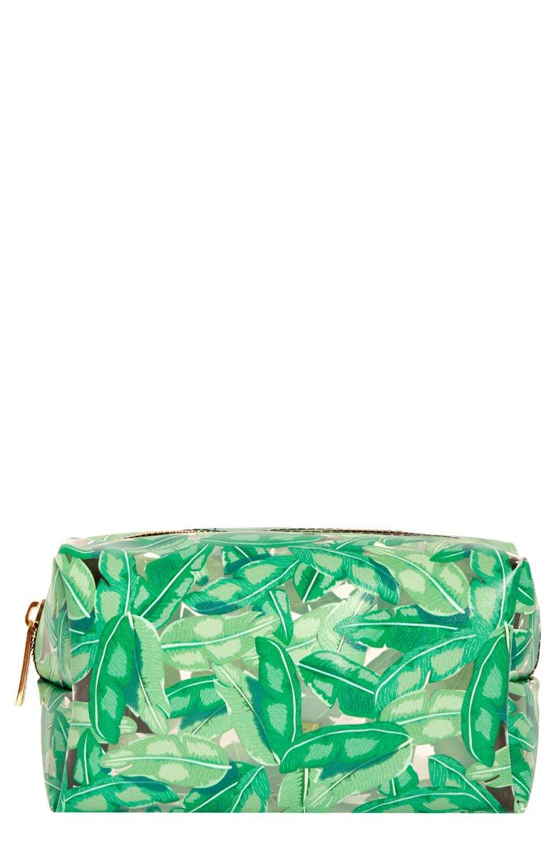 Skinny Dip Green Ferns Makeup Bag | Nordstrom