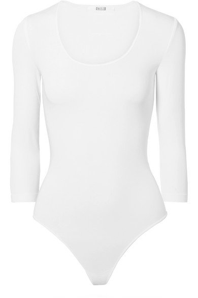 Wolford | Tokio stretch modal-blend thong bodysuit | NET-A-PORTER.COM