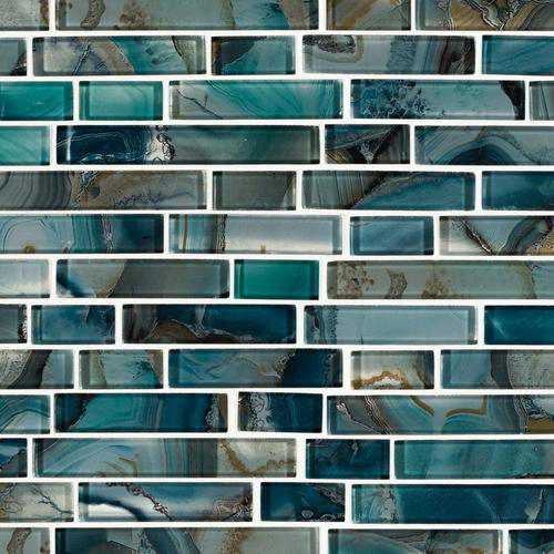 Harbour Island Polished Linear Mosaic - 12 x 12 - 100268952 | Floor and Decor