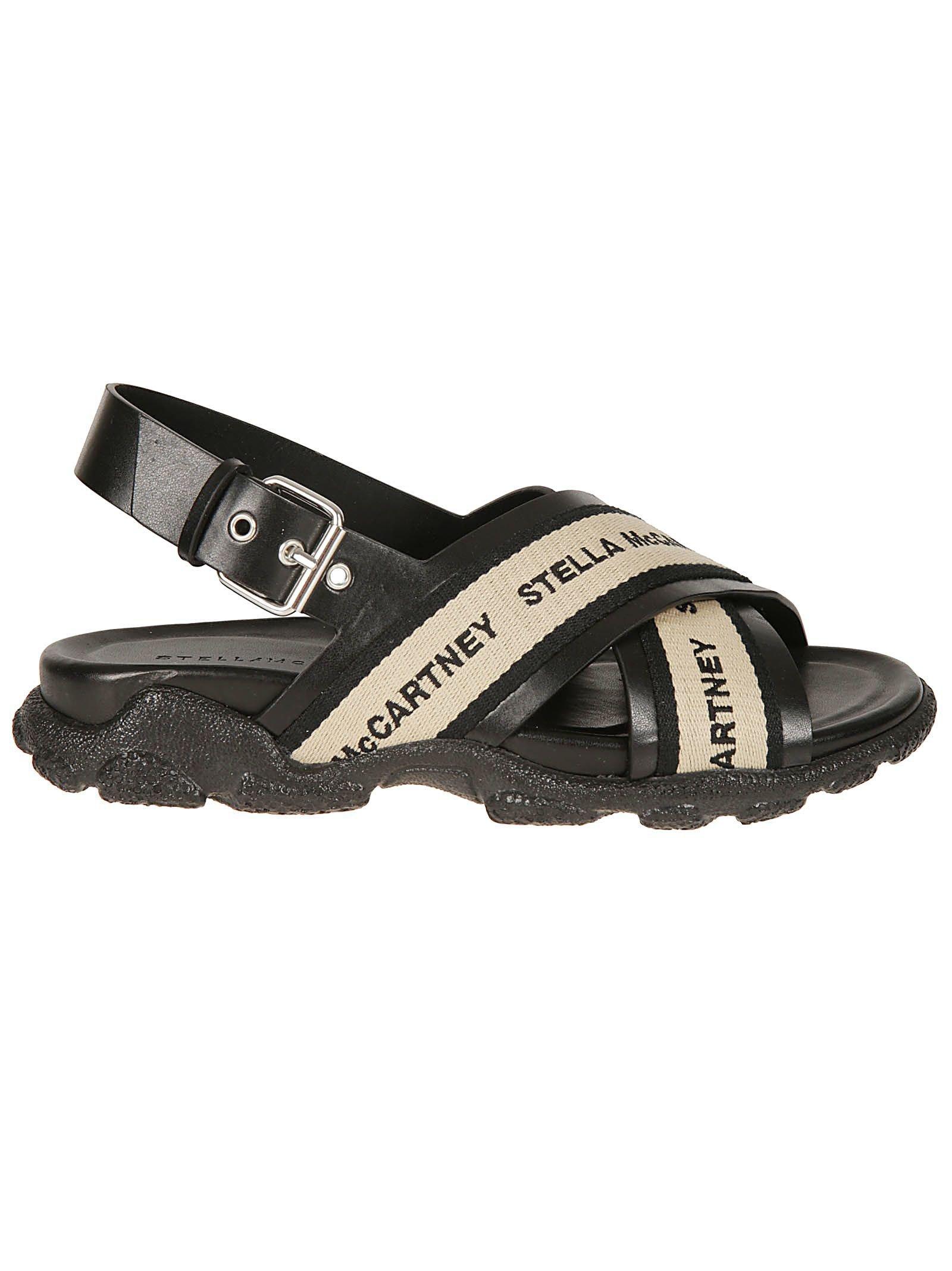 Stella Mccartney Cross Straps Sandals