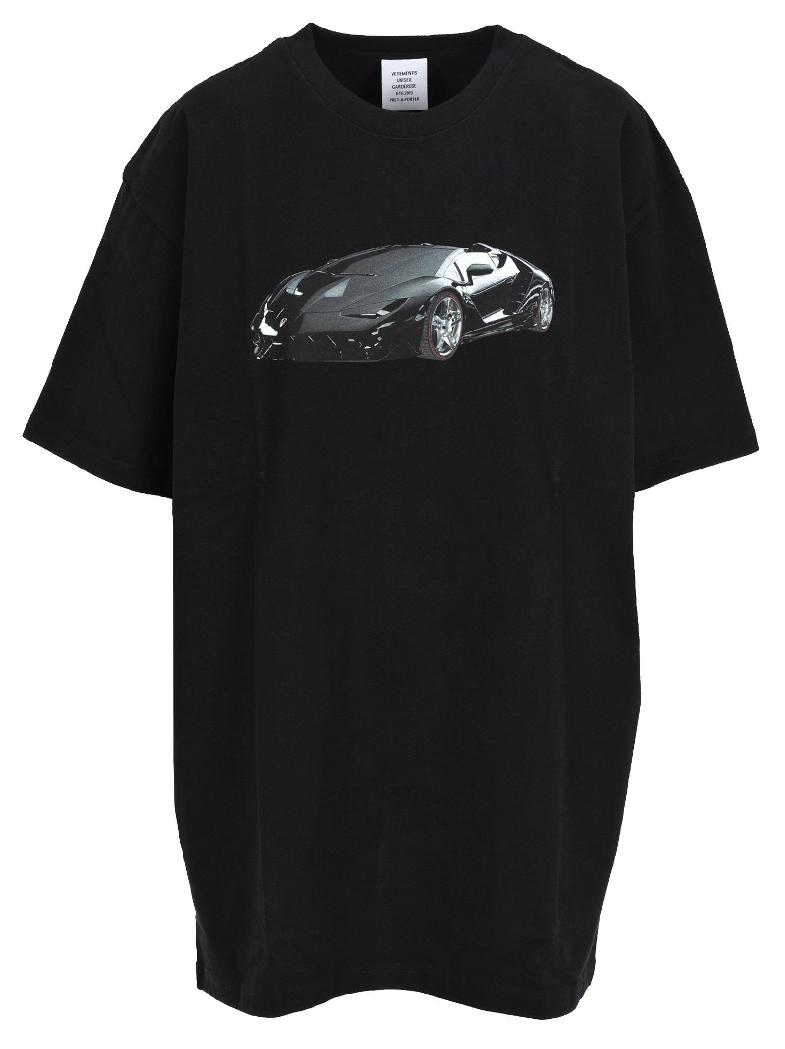 Vetements Vetements Car Print T-shirt