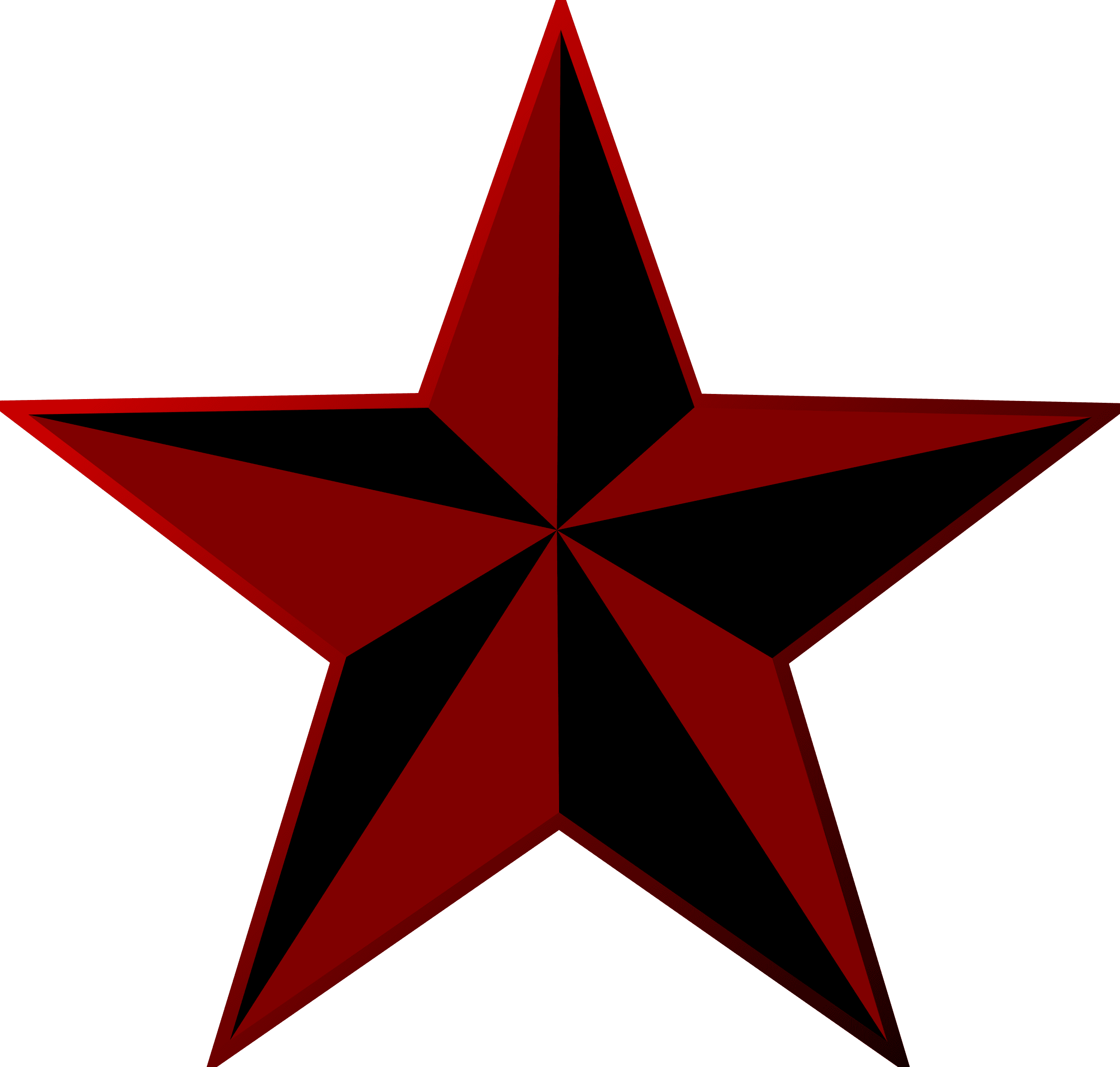 Clipart - Punk Star