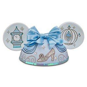 Your WDW Store - Disney Hat - Ears Hat - Princess Cinderella - Blue