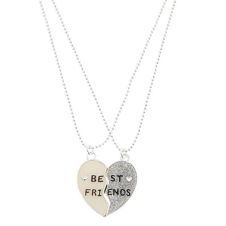 Broken Heart Best Friends Necklaces   Claire's US