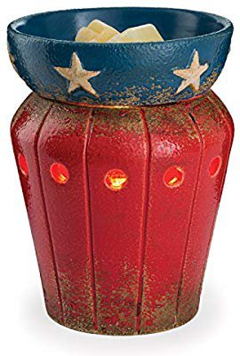 Amazon.com: Candle Warmers Etc. Illumination Fragrance Warmer, Americana: Home & Kitchen