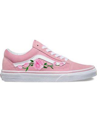 Pink Rose Vans