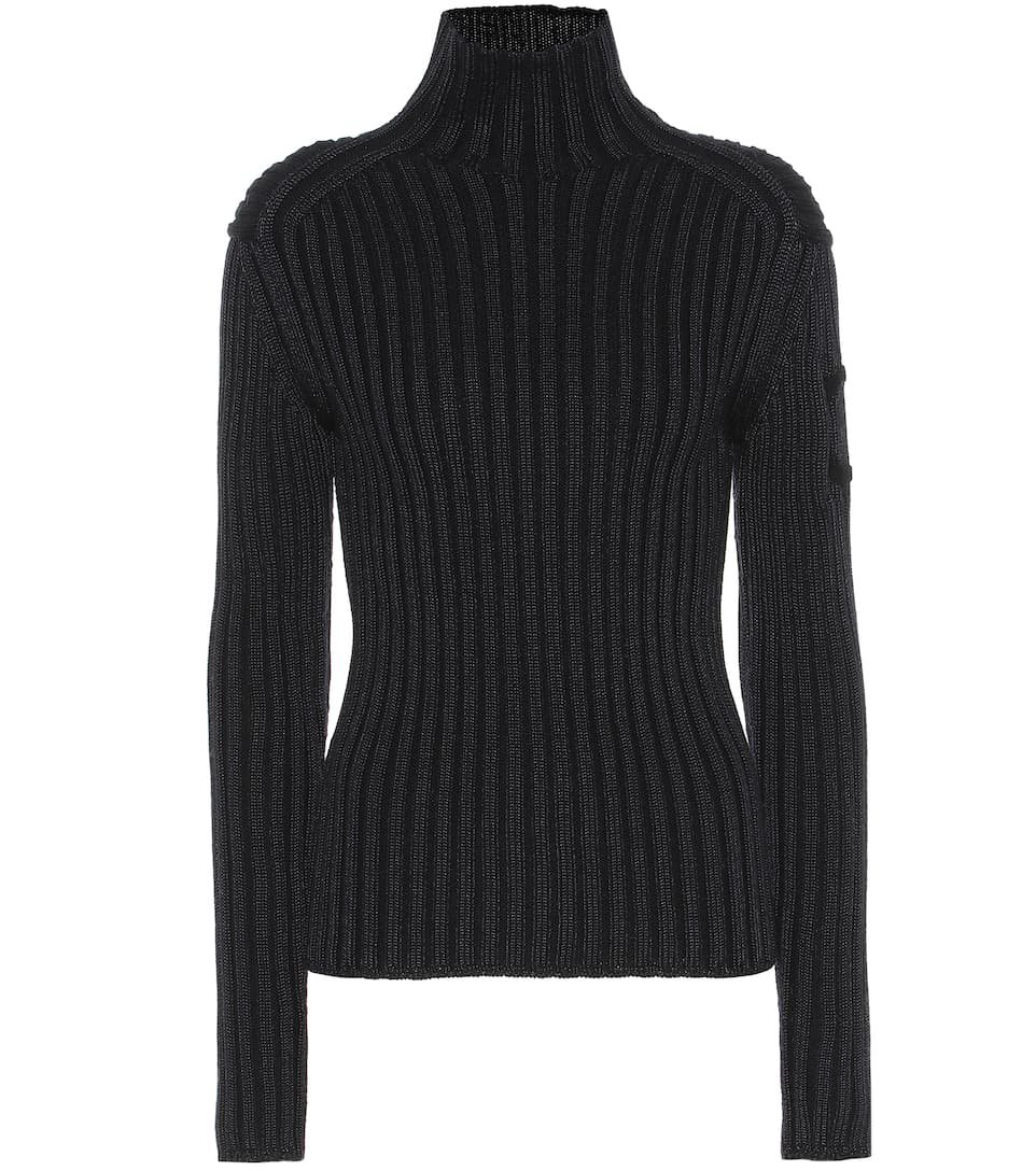 Chloé - Ribbed wool-blend sweater | Mytheresa