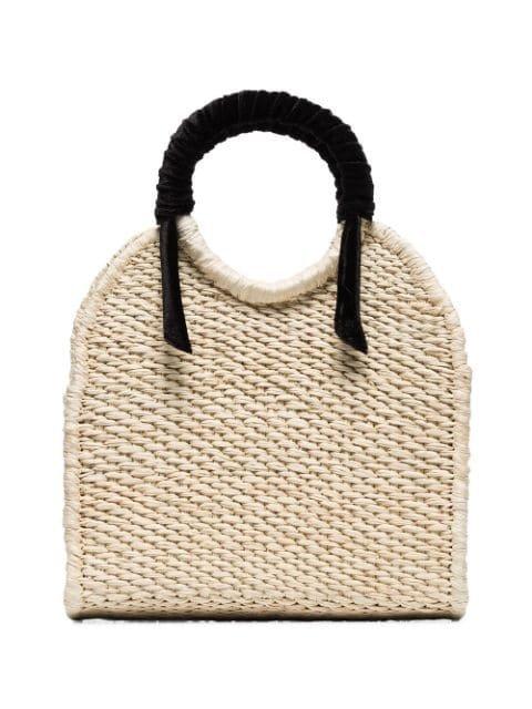 Sensi Studio Mini Straw Top-Handle Bag | Farfetch.com