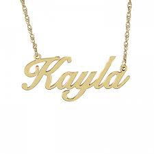 name necklace - Google Search