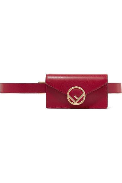 Fendi | Leather belt bag | NET-A-PORTER.COM