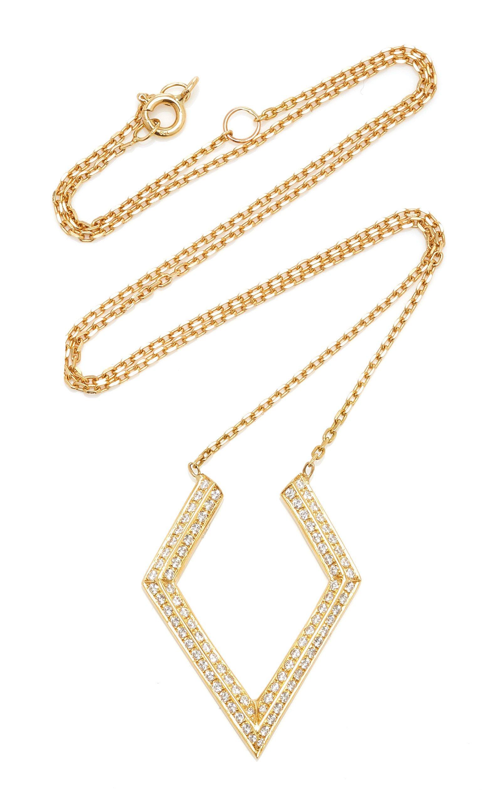 Ralph Masri Phoenician Script Necklace