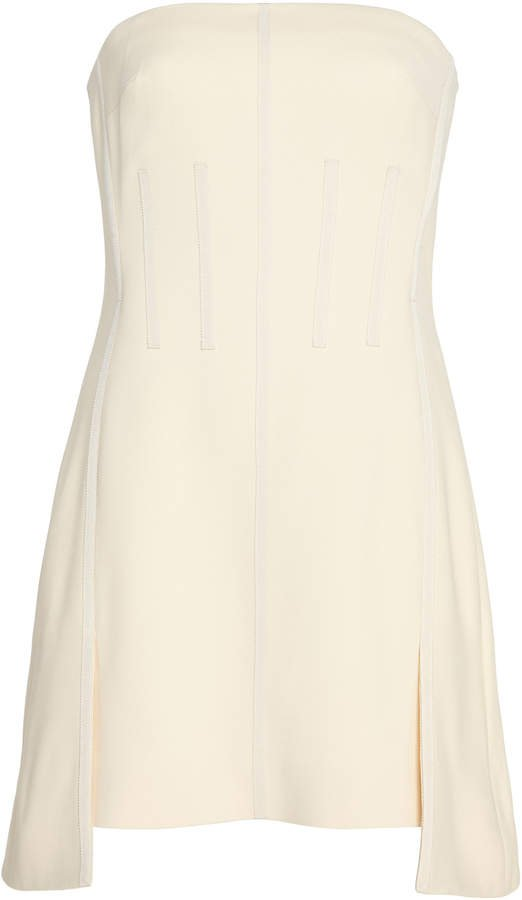 Corset Strapless Mini Dress