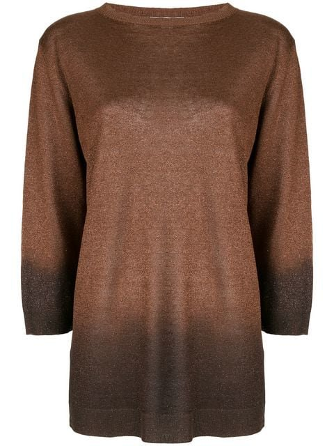 Fabiana Filippi gradient-effect sweater