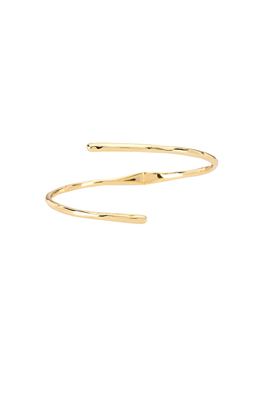 Taner Coil Hinge Cuff Bracelet