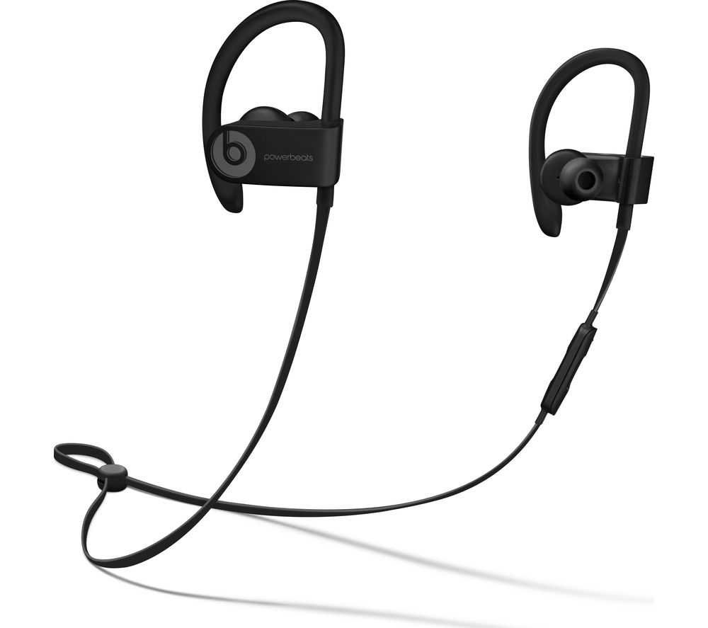 Buy BEATS Powerbeats3 Wireless Bluetooth Headphones - Black | Free Delivery | Currys