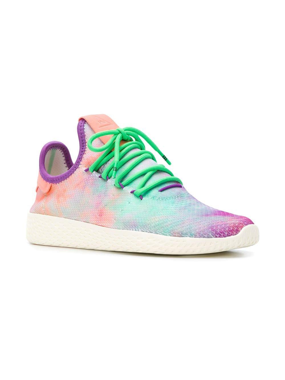 Adidas Tênis 'Pharrell Williams HU Holi Tennis HU MC' - Farfetch
