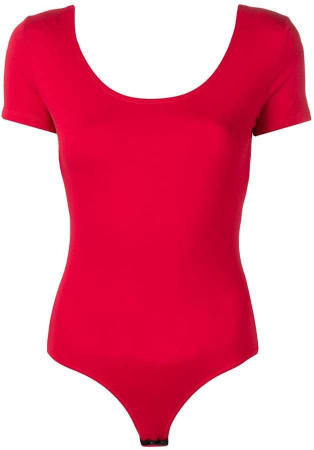 short-sleeved bodysuit