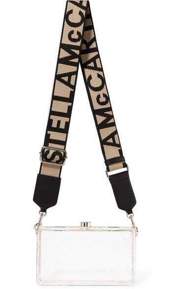 Stella McCartney | Printed plastic shoulder bag | NET-A-PORTER.COM