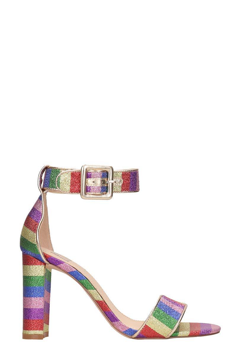 Bibi Lou Glitter Multicolor Sandals