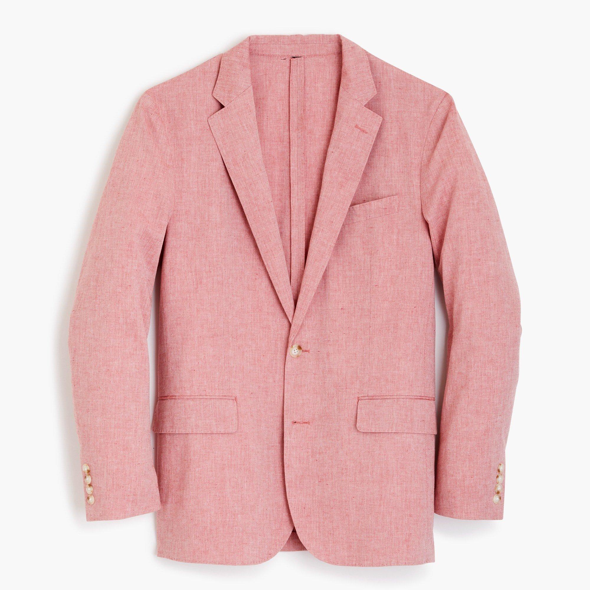 J.Crew: Ludlow Slim-fit unstructured blazer in cotton-linen
