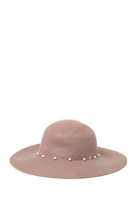 Vince Camuto | Embellished Studded Floppy Wool Hat | Nordstrom Rack
