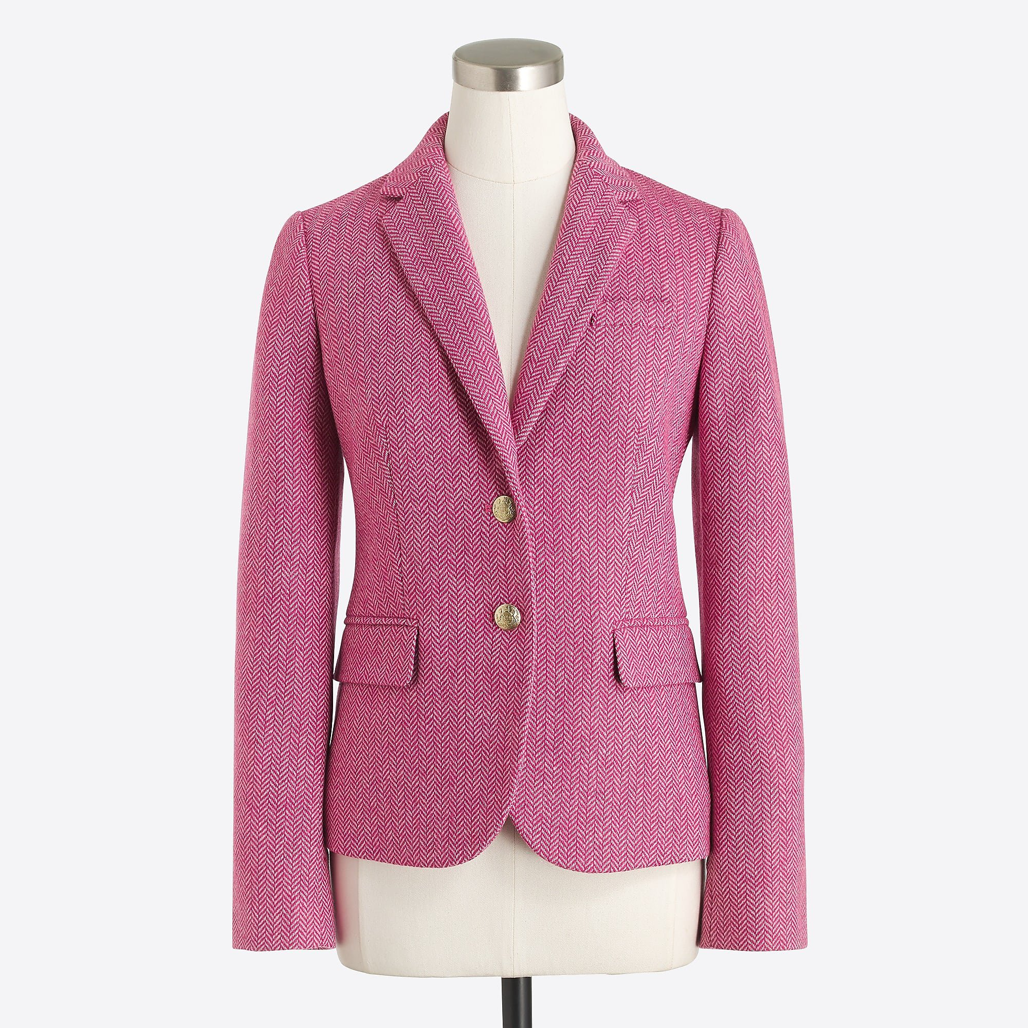 J.Crew Factory: Patterned schoolboy blazer