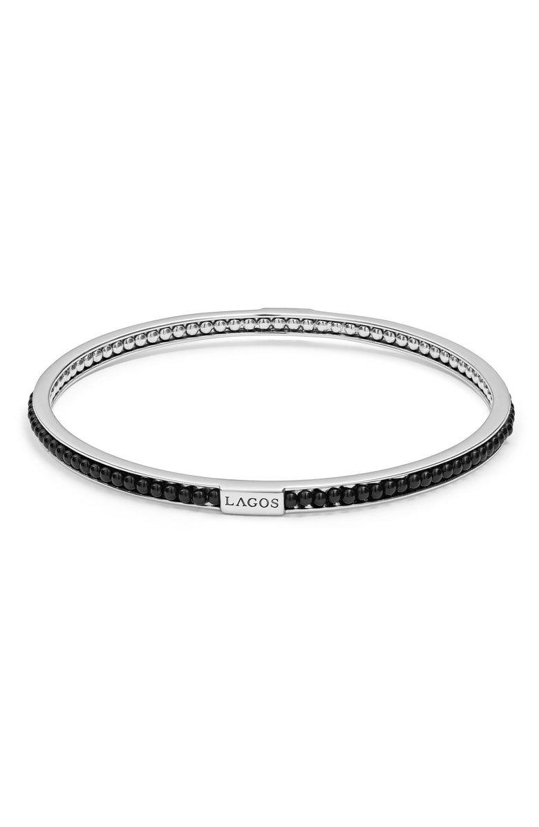 LAGOS Caviar Icon Beaded Bangle Bracelet | Nordstrom