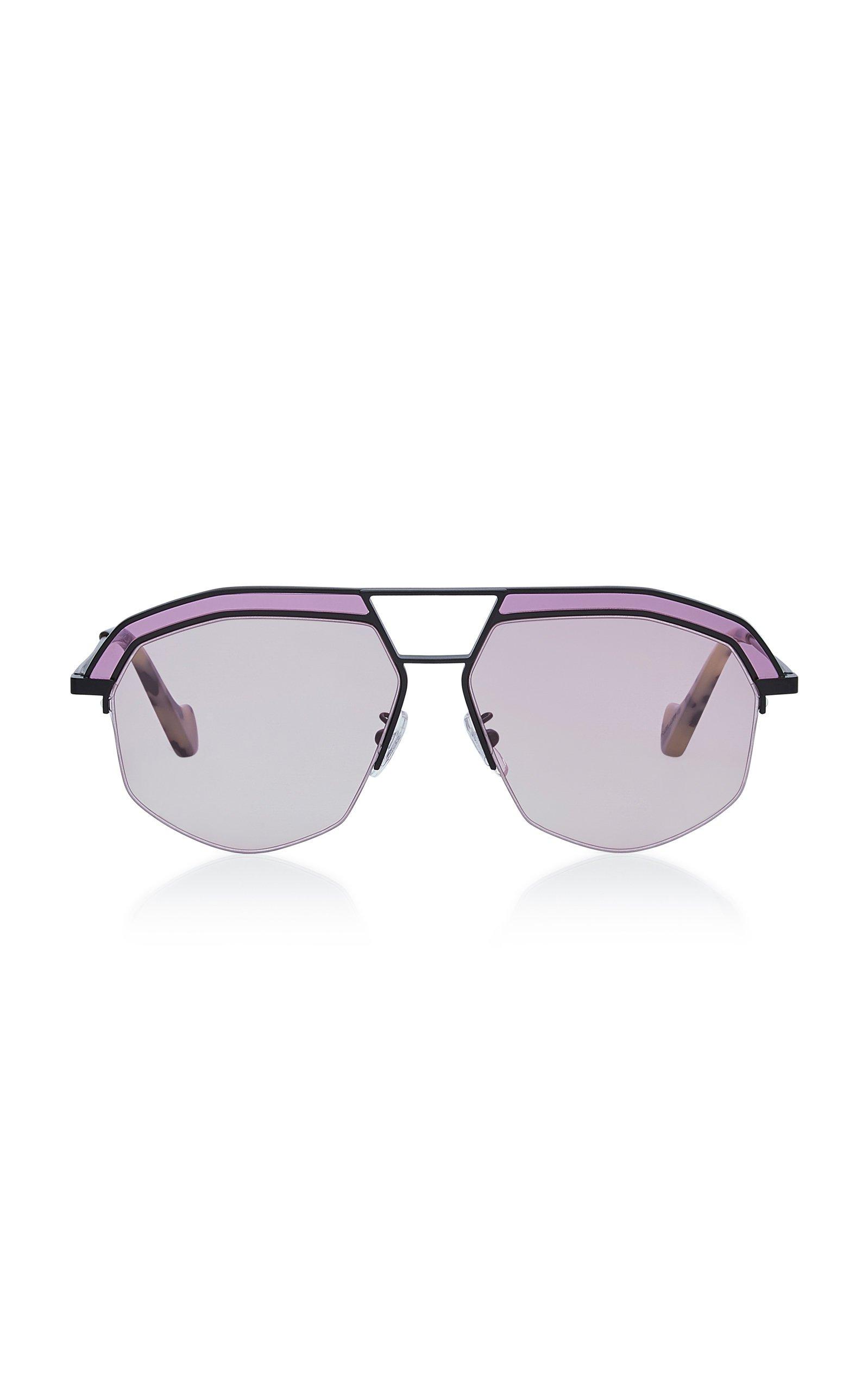 Loewe Sunglasses Oversized Octagonal Metal Sunglasses