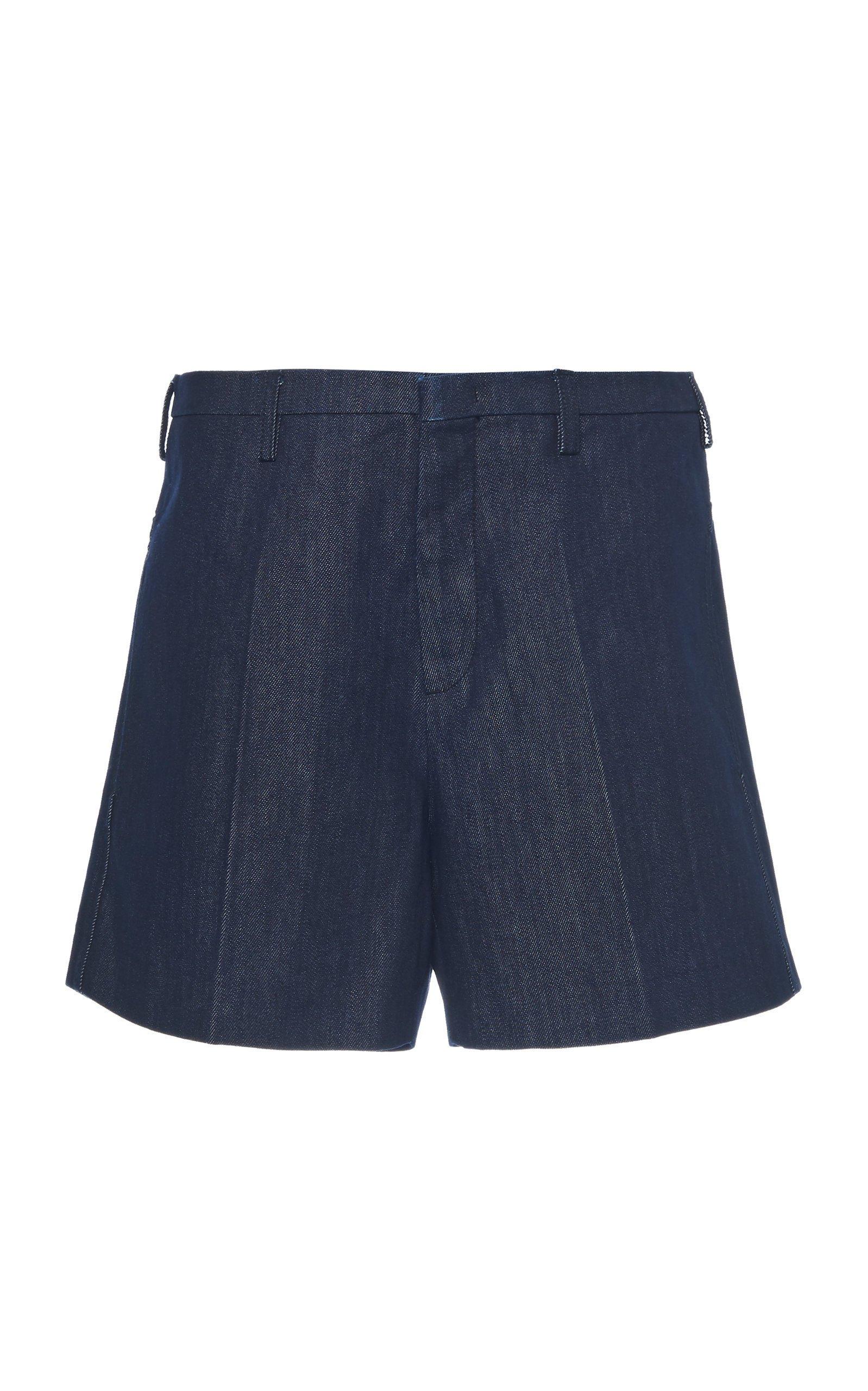 N°21 Mid-Rise Denim Shorts Size: 48