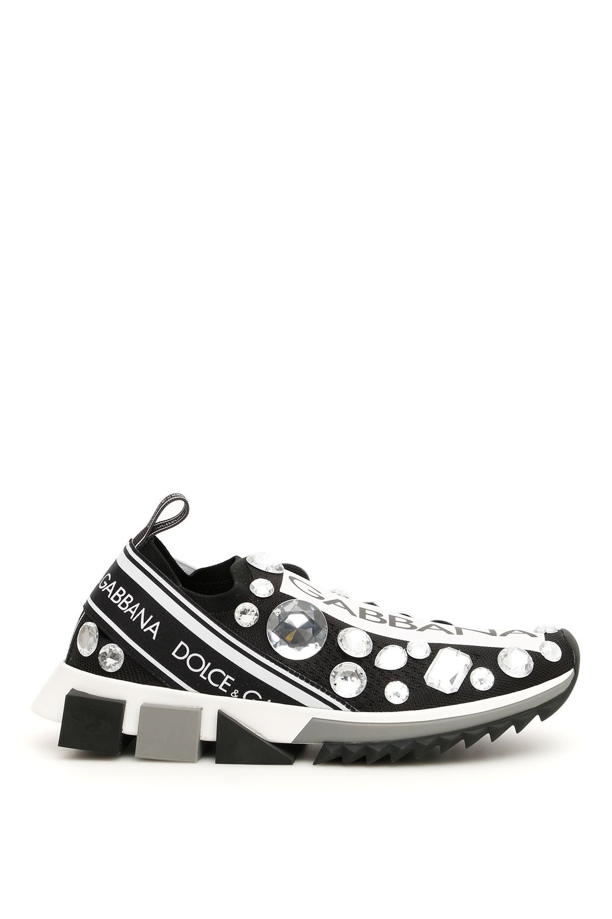 Dolce & Gabbana Crystal Sorrento Sneakers