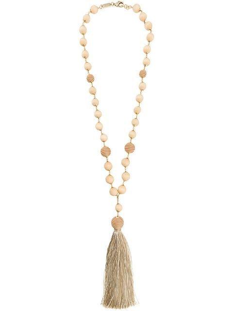 Rosantica Braided Bead Necklace - Farfetch