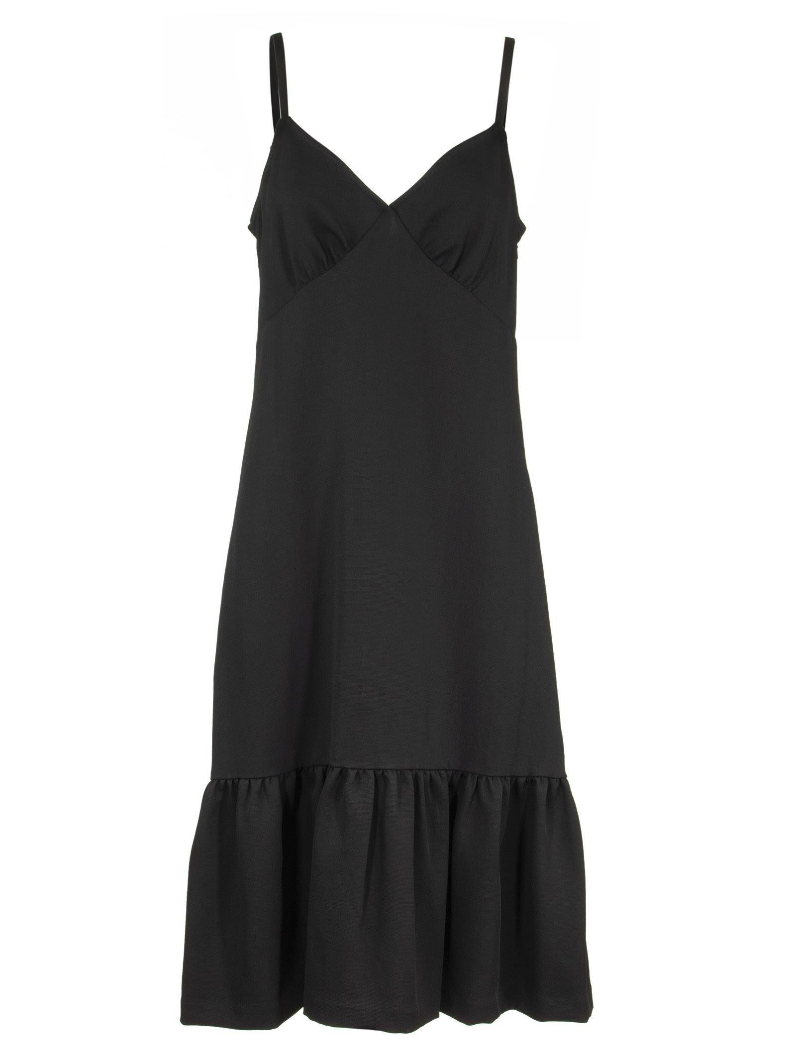 Michael Kors Ruffled Slip Dress