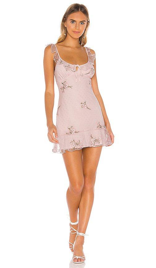 MAJORELLE Sunbeams Dress in Princess Pink | REVOLVE