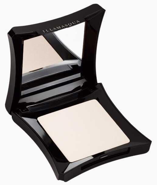 illamasqua powder foundation fair pale white vamp vampire black white makeup cosmetic skin base concealer setting