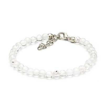 Crystal Clear Quartz Bracelet   Mystic Self LLC