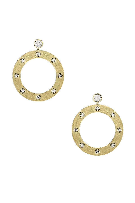 The Adona Statement Hoop Earrings