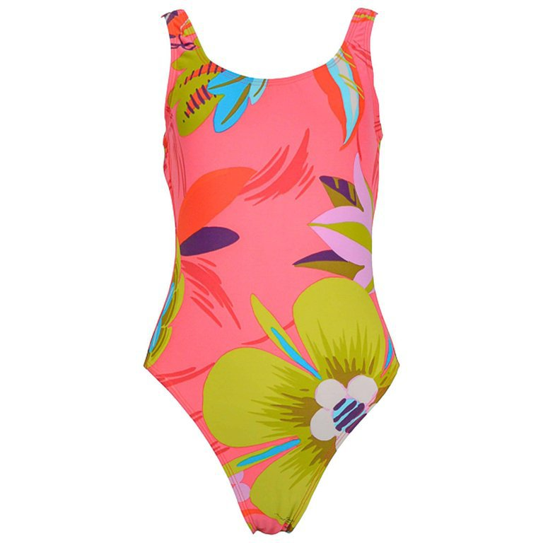1999 Tom Ford for Gucci Pink Floral One-Pice Swimsuit For Sale at 1stdibs