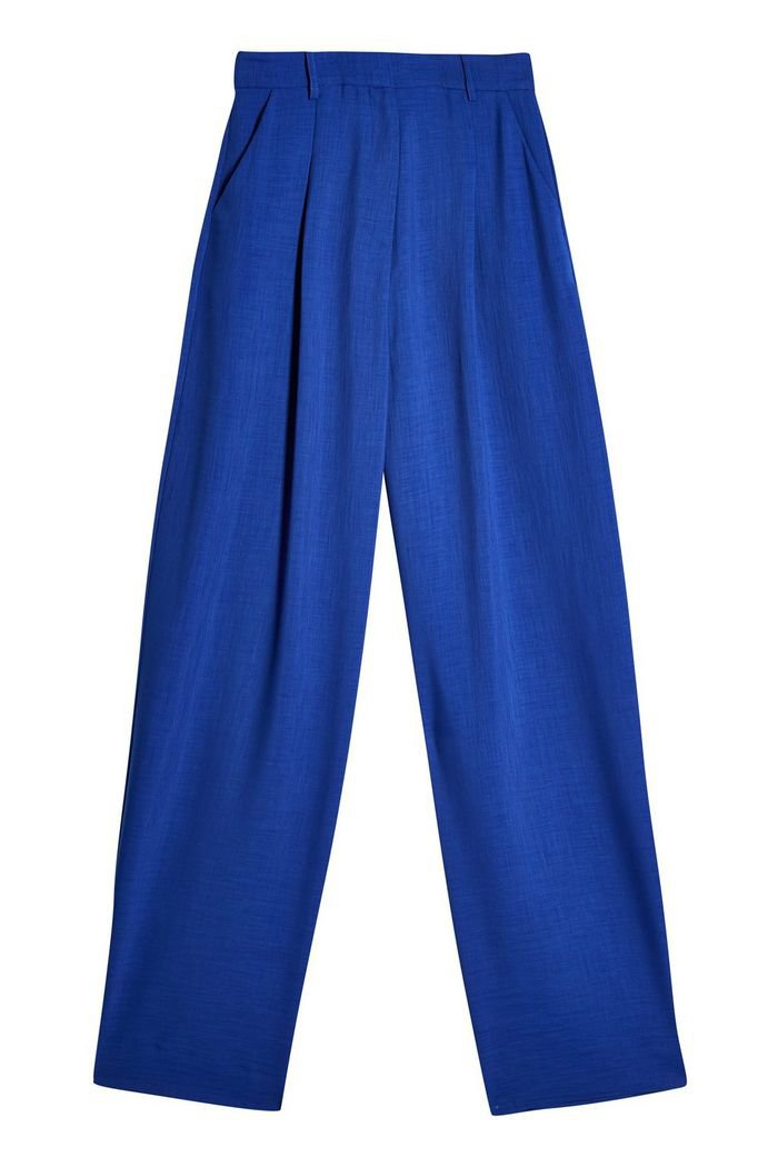 **Cobalt Blue Peg Trousers By Topshop Boutique | Topshop