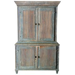 18th Century Swedish Rococo Cabinet For Sale at 1stdibs